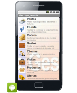 Tickets desde Android